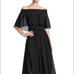 Dress the population  Violet Off Shoulder Gown M